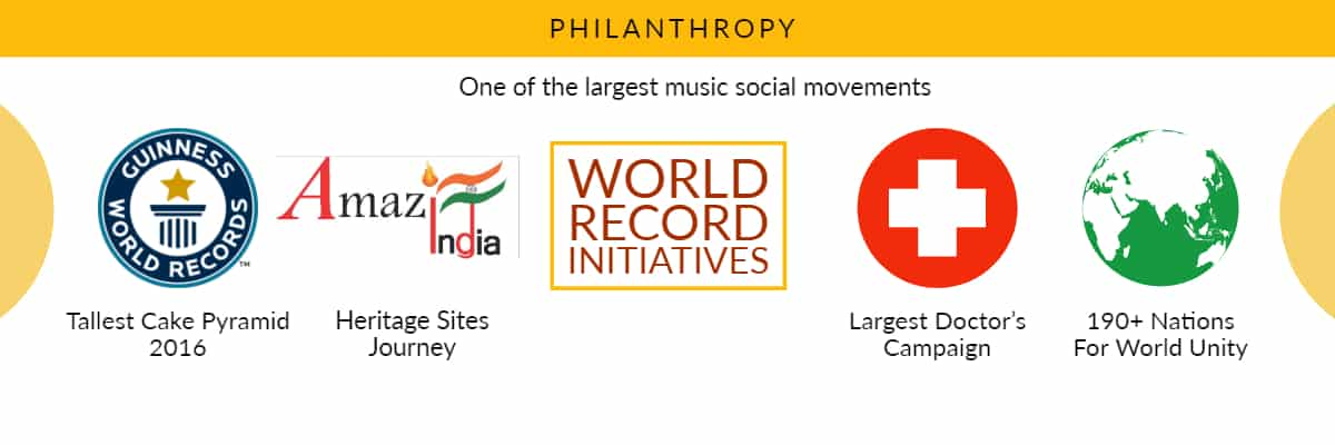 Philanthrophy Music Social