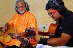 <b> Privileged to have done duets with you & being part of Guitarmonk </b>